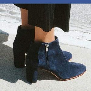 Loeffler Randall Greer navy ankle bootie
